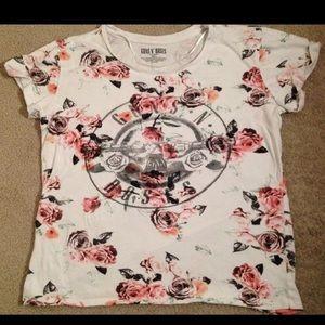 1 Guns & Roses Shirt Band Blouse Tee